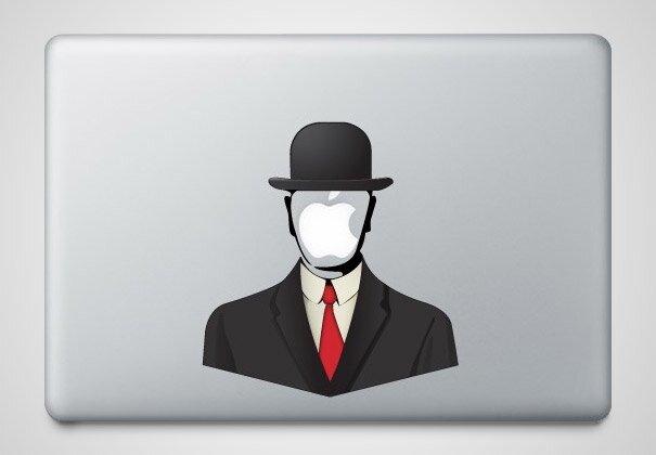 Наклейки на macbook 019