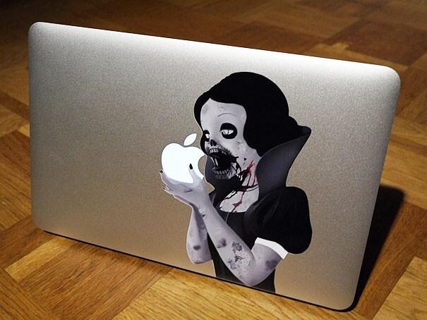 Наклейки на macbook 035