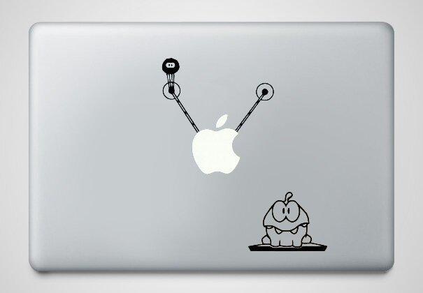 Наклейки на macbook 056