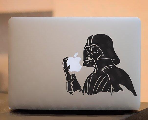 Наклейки на macbook 075