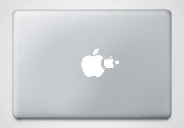 Наклейки на macbook 085