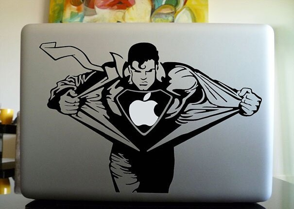 Наклейки на macbook 115