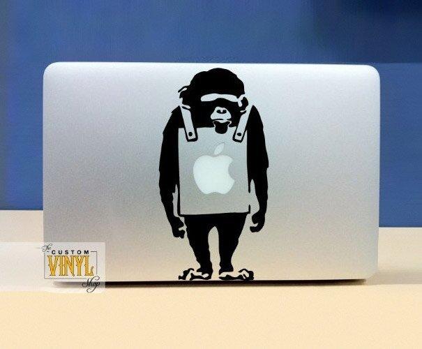 Наклейки на macbook 143