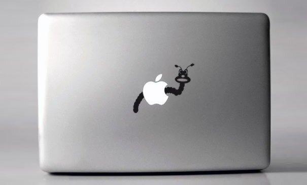 Наклейки на macbook 162