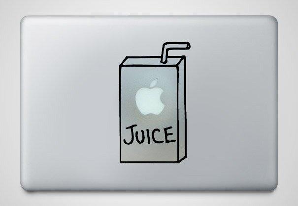 Наклейки на macbook 204