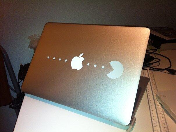 Наклейки на macbook 233
