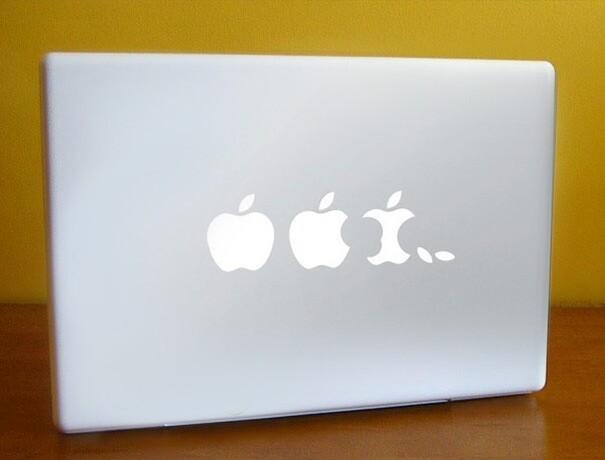 Наклейки на macbook 241