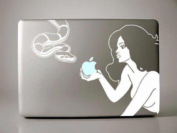 Наклейки на macbook 251