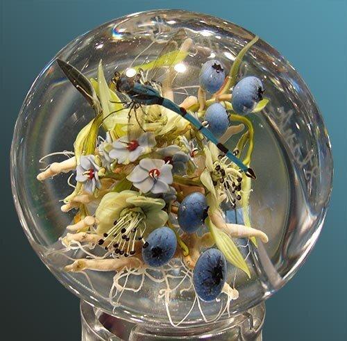 Кусочки природы в стекле 3471127