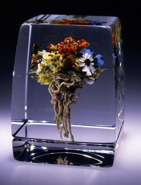 Кусочки природы в стекле 3471149