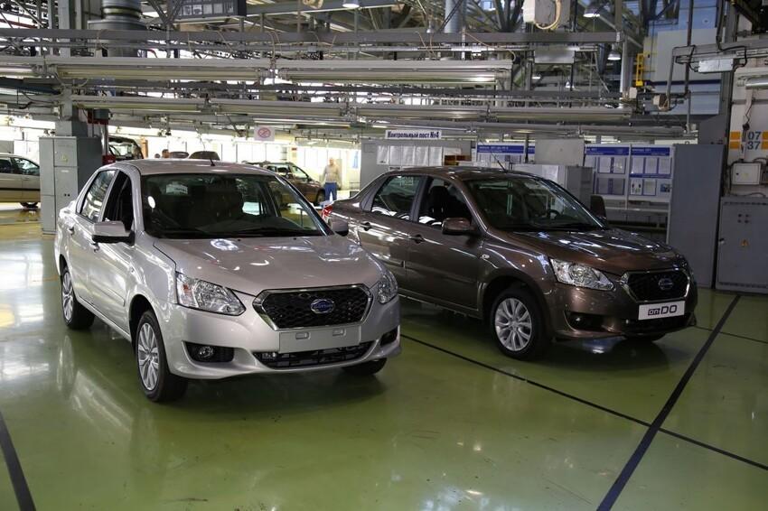 АвтоВАЗ начал серийную сборку Datsun 002