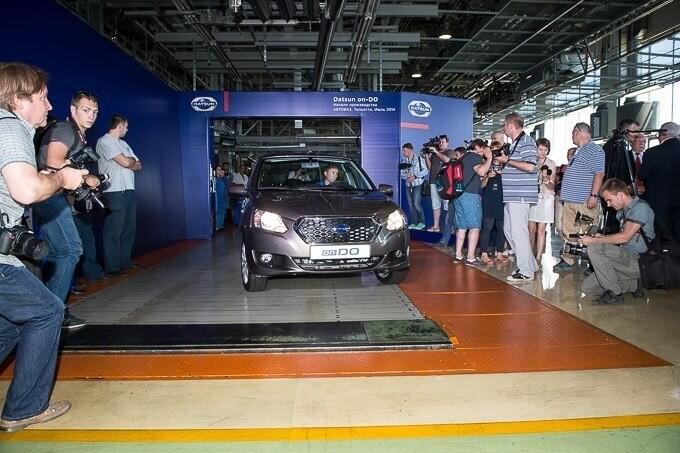 АвтоВАЗ начал серийную сборку Datsun 005