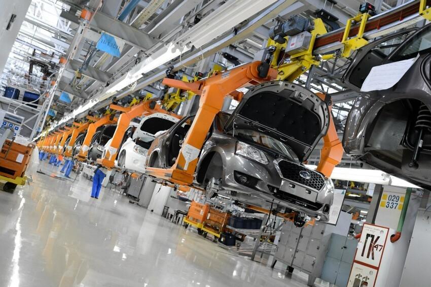 АвтоВАЗ начал серийную сборку Datsun 006