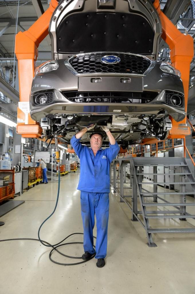 АвтоВАЗ начал серийную сборку Datsun 007