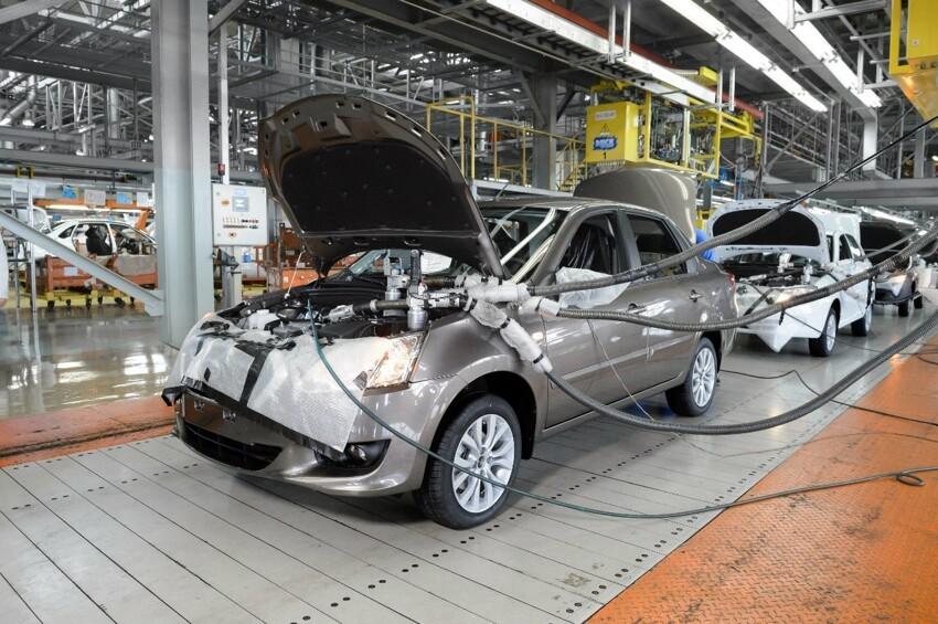 АвтоВАЗ начал серийную сборку Datsun 010