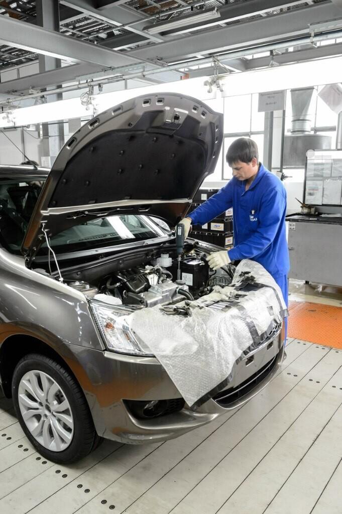 АвтоВАЗ начал серийную сборку Datsun 023