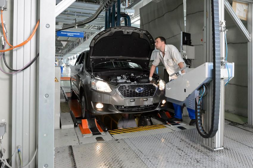 АвтоВАЗ начал серийную сборку Datsun 025