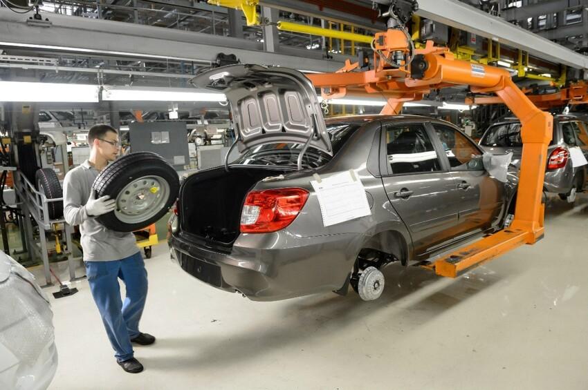 АвтоВАЗ начал серийную сборку Datsun 026