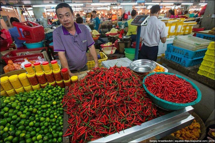 Зеленое изобилие китайского рынка 006
