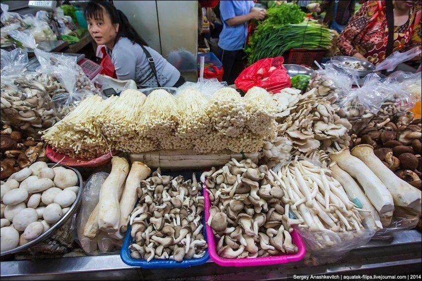 Зеленое изобилие китайского рынка 010