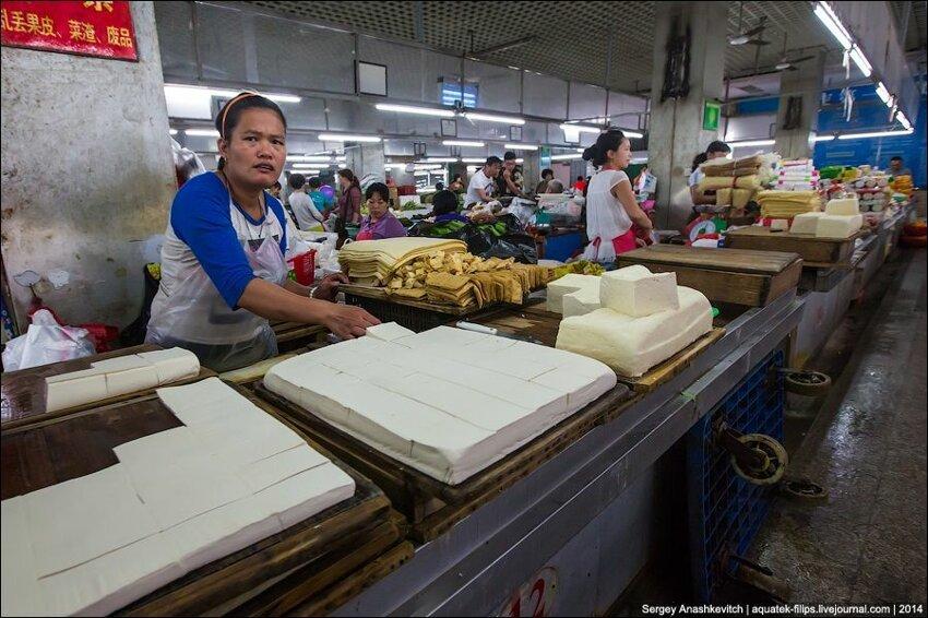 Зеленое изобилие китайского рынка 012
