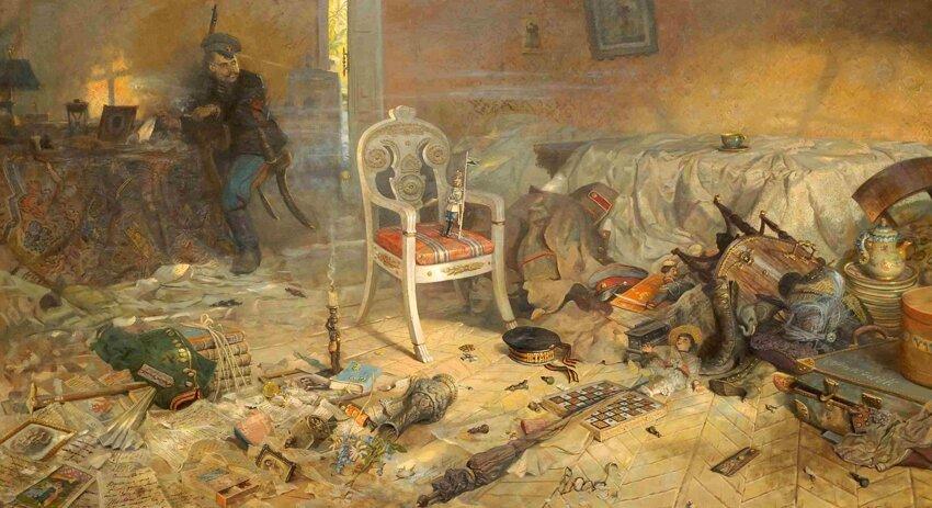 17 июля 1918 года... О покаянии 1_ryzhenkov_pavel_viktorovich_5_triptych_the_tsars_calvary_ipatiev_house_after_the_regicide_2004