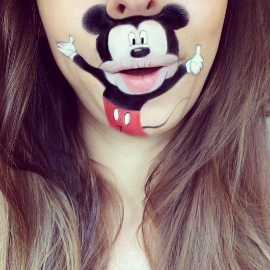 Забавный макияж 11