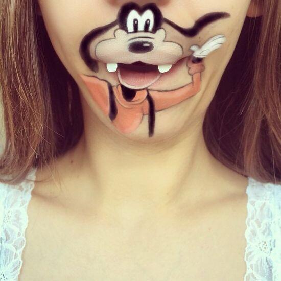 Забавный макияж 13