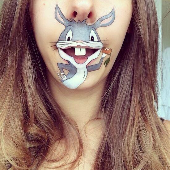 Забавный макияж 17