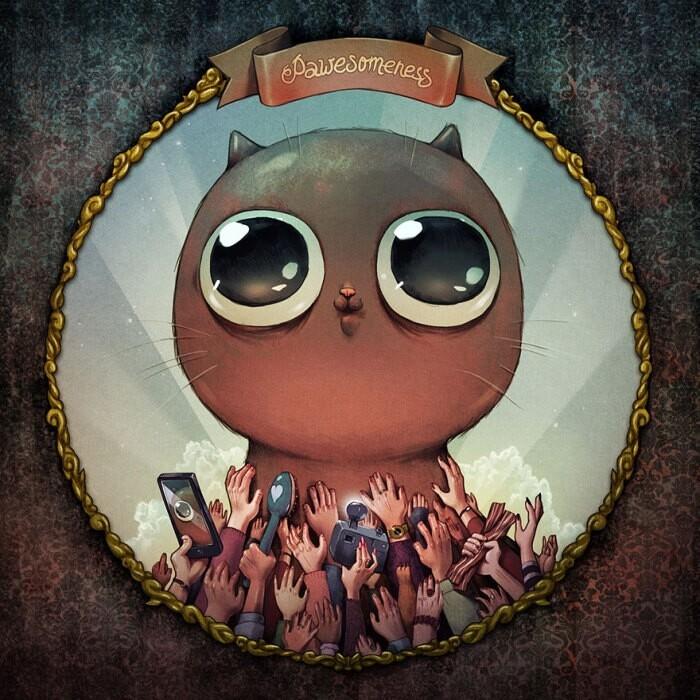 Восемь кошачьих грехов Deadly-catsins-marija-tiurina-8