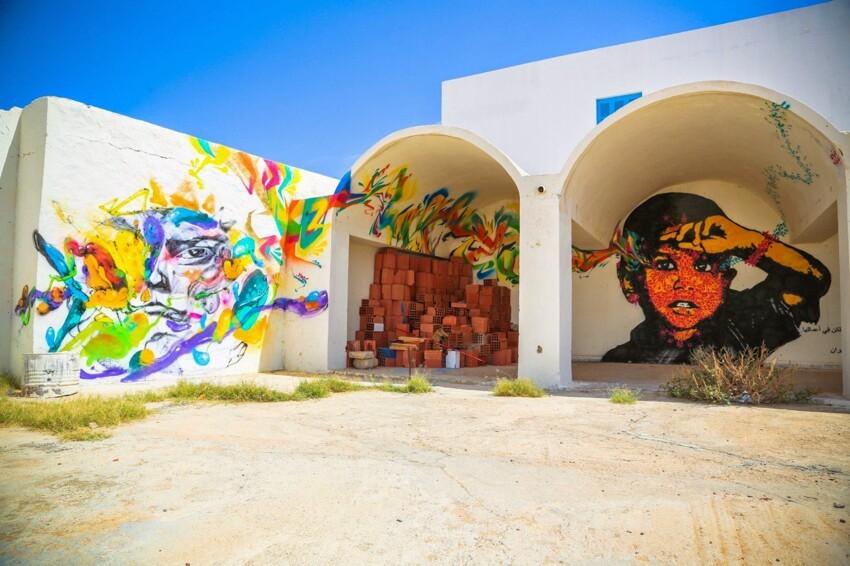 Расцвет уличного искусства в Тунисе 173c81be66dd7212541d09090438dcf2
