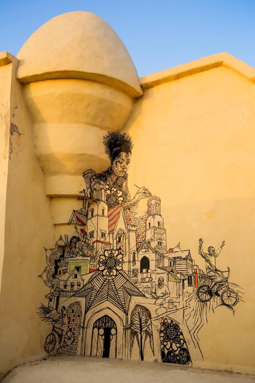 Расцвет уличного искусства в Тунисе 49f27adffc1990acc0cf3e945260a42a