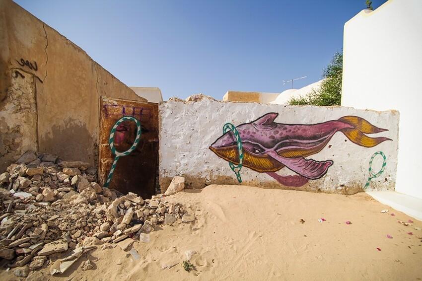 Расцвет уличного искусства в Тунисе 4d083d644bd0de592de646ebdb164d88