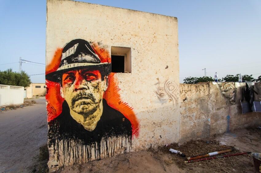Расцвет уличного искусства в Тунисе 4ede1261dee87ba2b57fb1e7bf172c42
