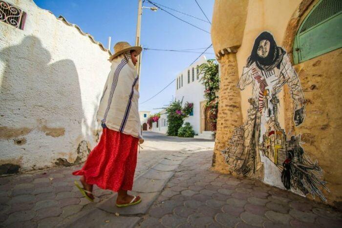 Расцвет уличного искусства в Тунисе 4ef61745aac6e1e5202c23a8076d6062