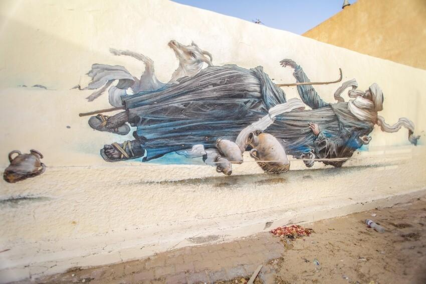 Расцвет уличного искусства в Тунисе 503f13eacc882f592086007bd1a921d6