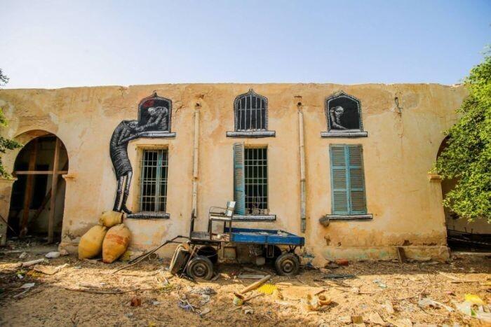 Расцвет уличного искусства в Тунисе 56bdf00bfff3eaadef30c6b990588a53
