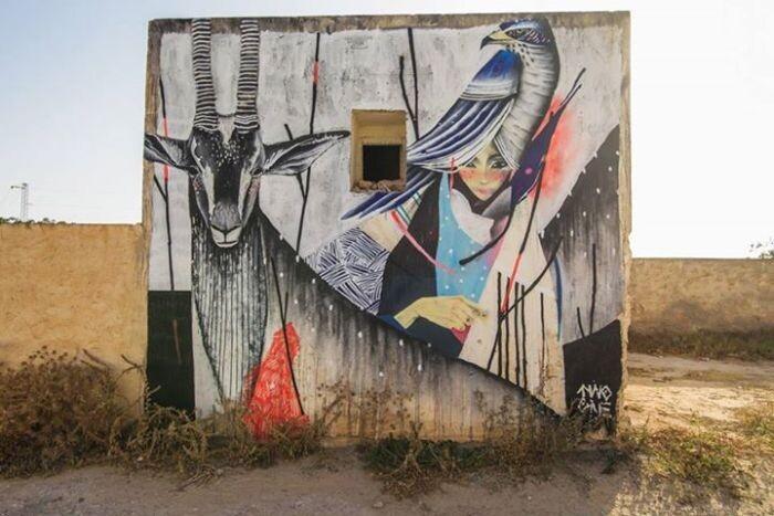 Расцвет уличного искусства в Тунисе Bbd1237391a28ca7447afb53e34d51b7