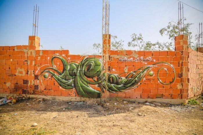 Расцвет уличного искусства в Тунисе Cb7405498f5727d4f811602c4a0c6b1b