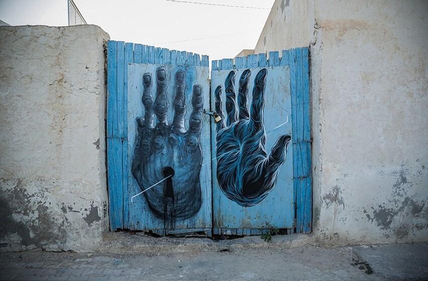 Расцвет уличного искусства в Тунисе Dd70f7b1015453a40c61f2287a54f5a9