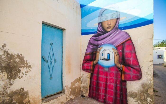 Расцвет уличного искусства в Тунисе Fc805e9c640508690a8c121211c94ada