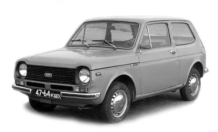 Экспериментальные модели советских автомобилей  1_experemental_vaz-2e1101