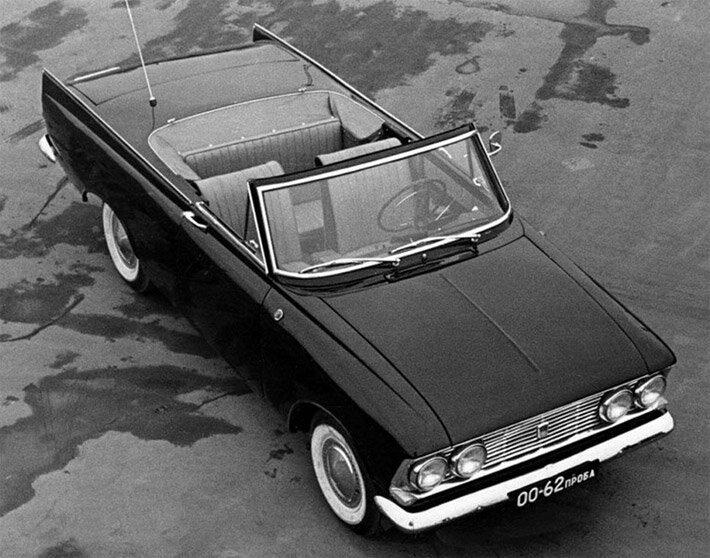 Экспериментальные модели советских автомобилей  Experemental_msk-408