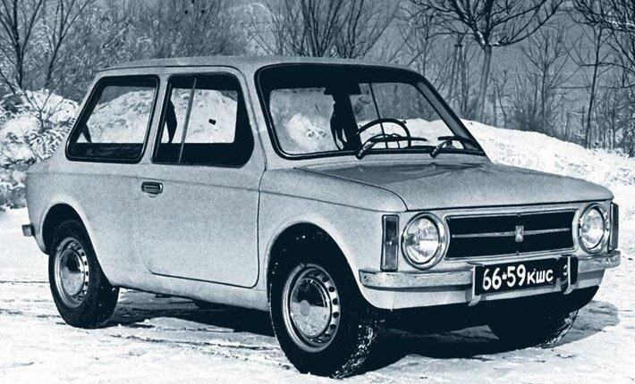 Экспериментальные модели советских автомобилей  Experemental_vaz-e1101