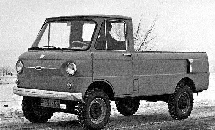 Экспериментальные модели советских автомобилей  Experemental_zaz-970g