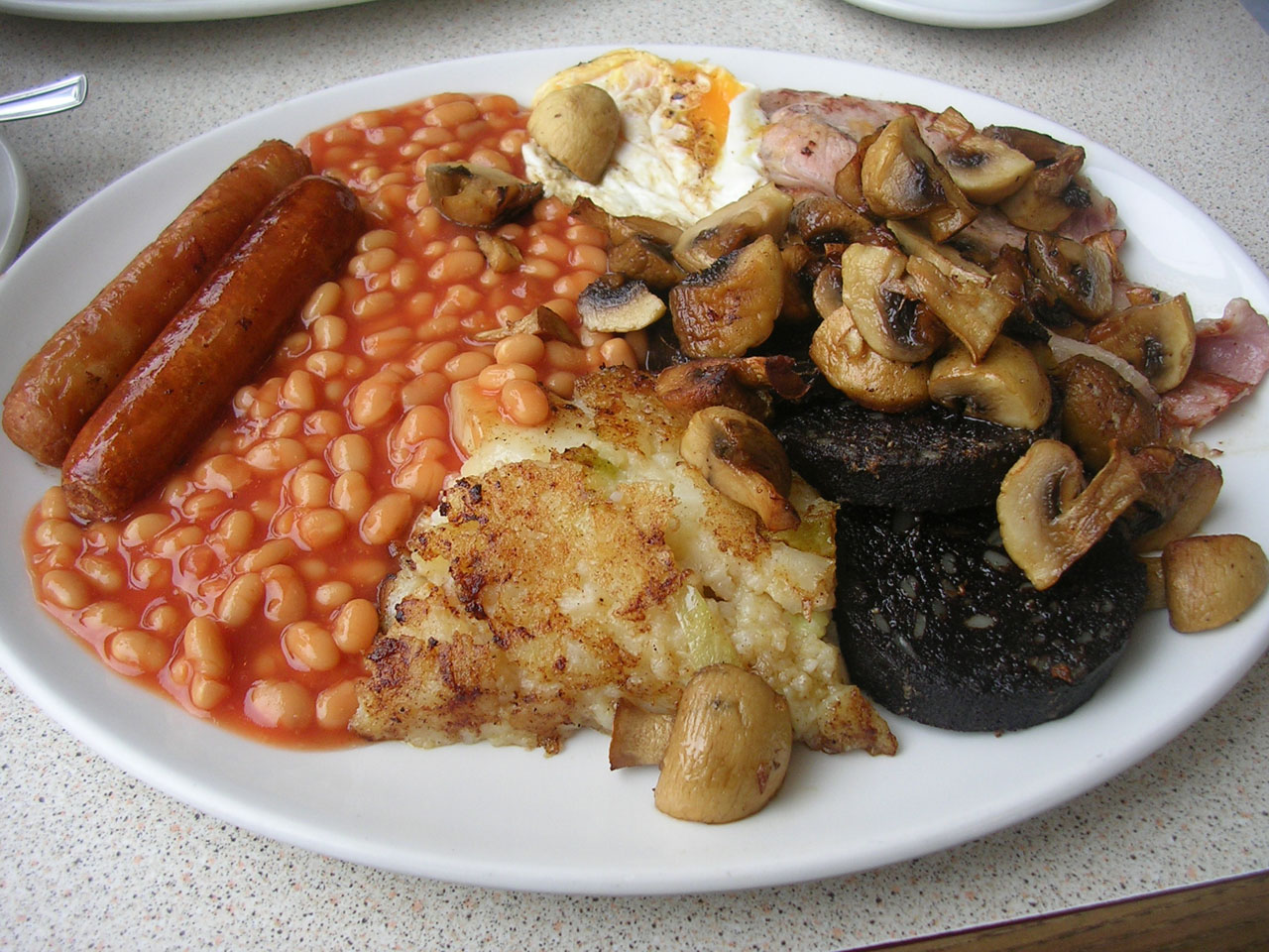 South Aussie Vintage Collectors English-breakfast-blackpudding