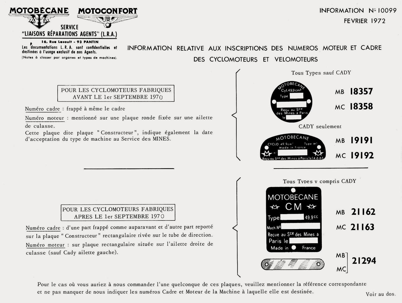 MOTOBECANE SP50 1ER MODELE 10099_01