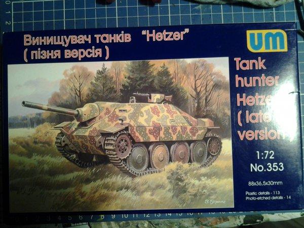 "Jagdpanzer 38 Hetzer ""late"", UM 1:72 5ae8cd1f-29cb-477a-af5d-6860d7e02eb4"