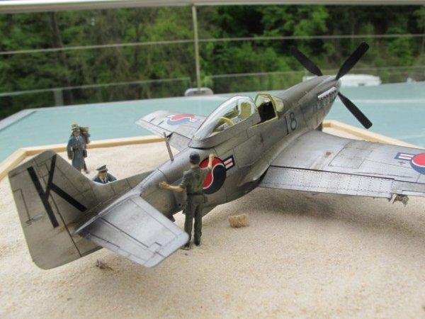 North American F-51D ROKAF - base Tamiya 1/48 789cf04b-dcc6-404d-8390-438d1cef13ba