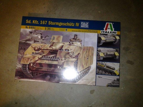 Sturmgeschütz IV Italeri 1:35 Edfba335-67f0-4fd1-a46f-e8fe3a33591c